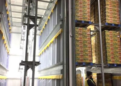 Charlies Produce three tier ripening rooms usa